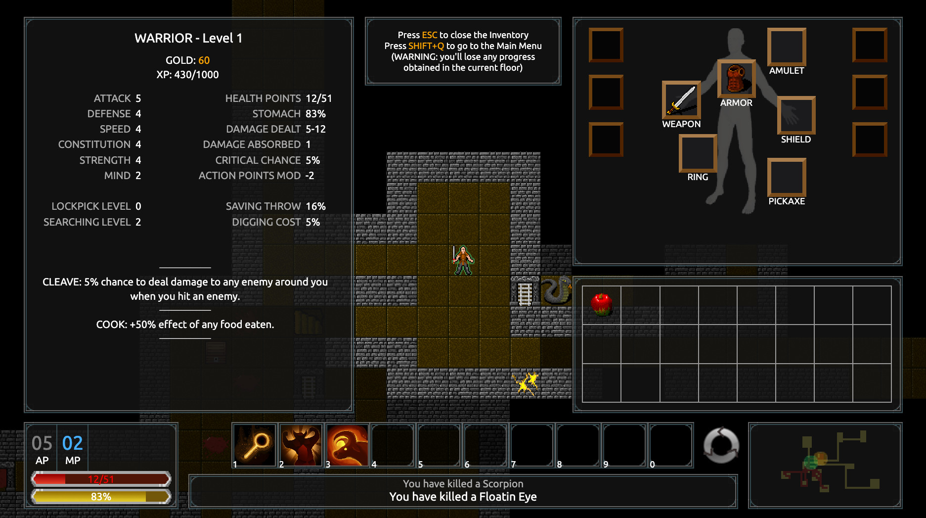 Catacumbas Roguelike